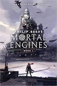 Mortal Engines Philip Reeve Book Cover